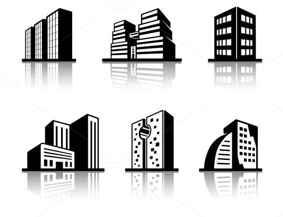 Black And White Building Icons Building Icon Black And White Building White Building