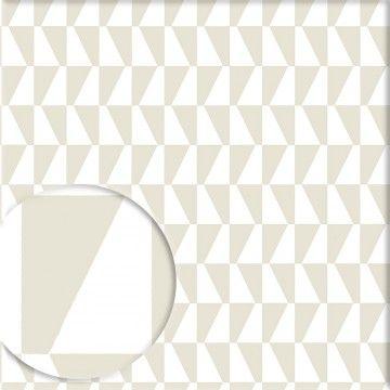 Tapete TRAPEZ graubeige - BORAS Wallpaper - Tapeten Pinterest - tapete grau beige