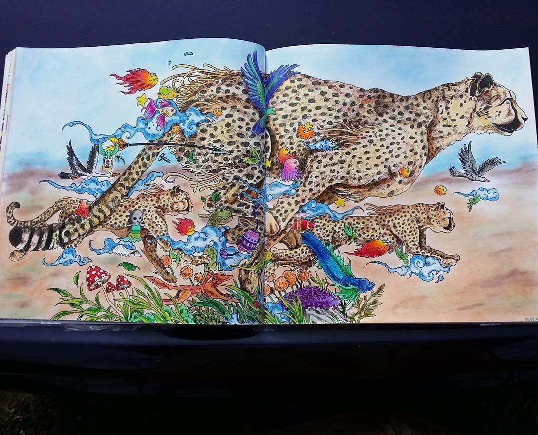 From Animorphia Coloring BooksAdult
