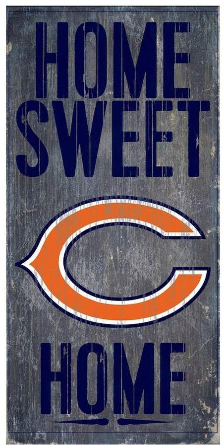 Kohl s Chicago Bears Home Sweet Home Sign  3e2e6a77e