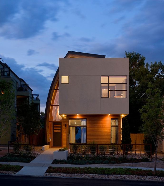 Irregularly Shaped Modern Residence in Denver  Colorado  Shield     Irregularly Shaped Modern Residence in Denver  Colorado  Shield House    House Designer Ideas