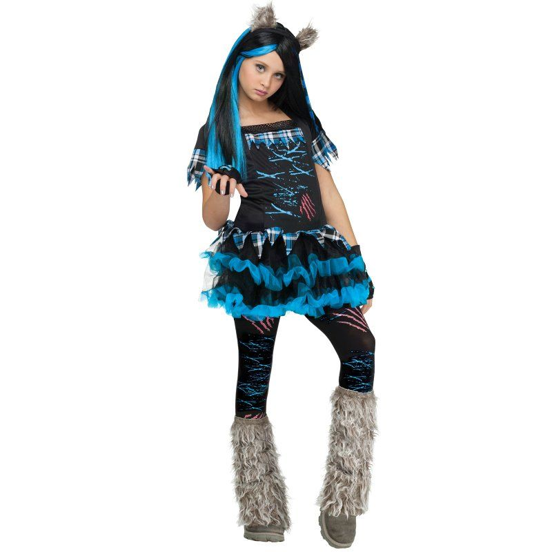 anime halloween teen girl costumes girl wolf costume - Halloween Costumes Wolf