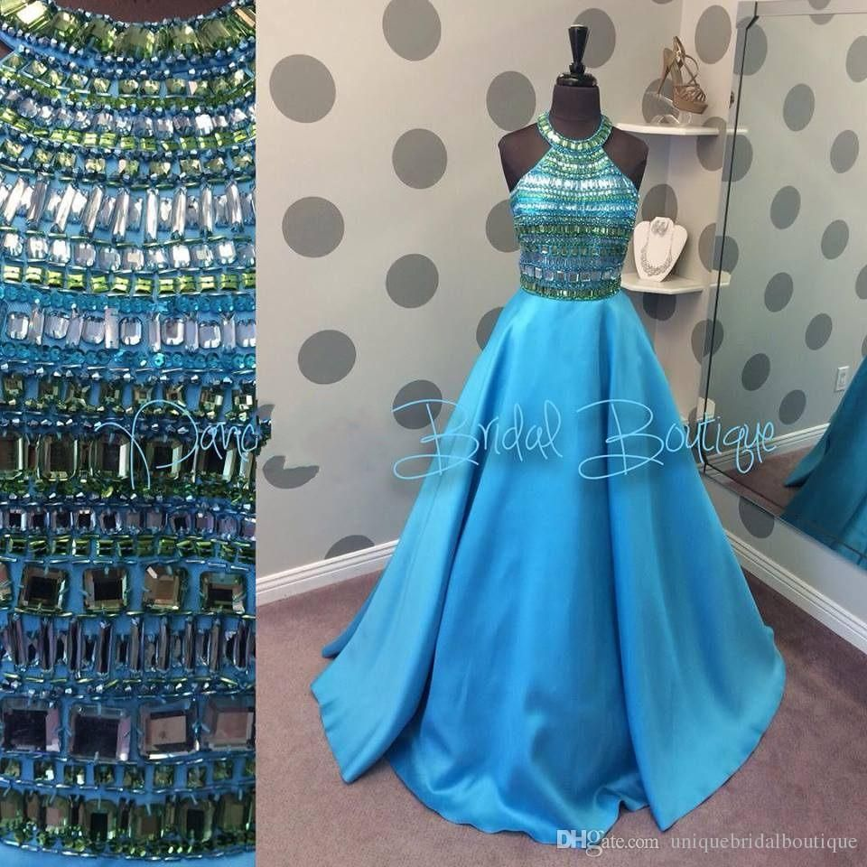 2k16 Ball Gown Prom Dresses with Major Beading Bodice and Beaded ...