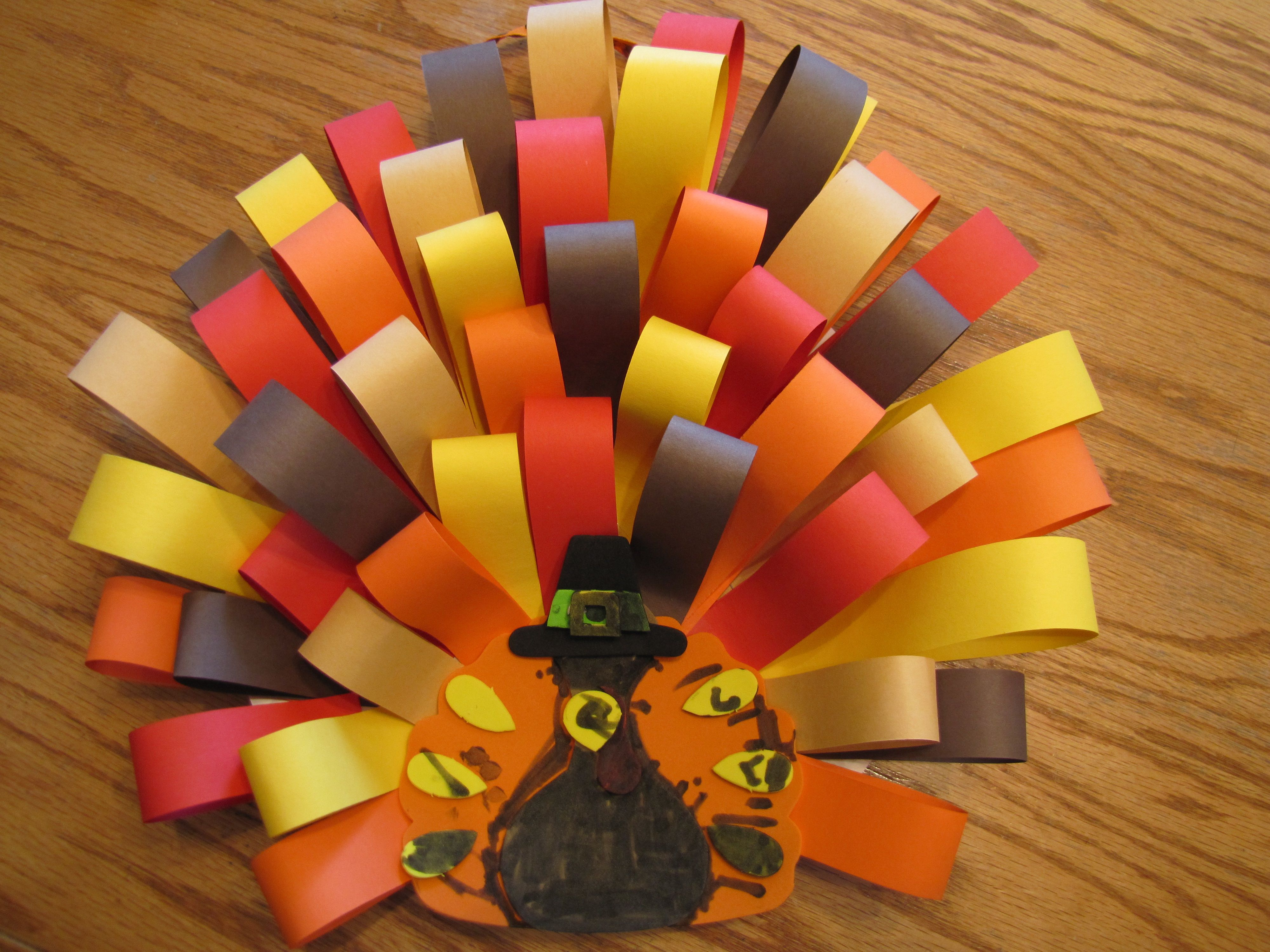 32++ Construction paper crafts for thanksgiving ideas