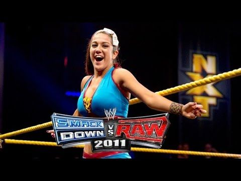 Bayley Entrance SmackDown vs Raw 2011 (PS2) [WWE Games]