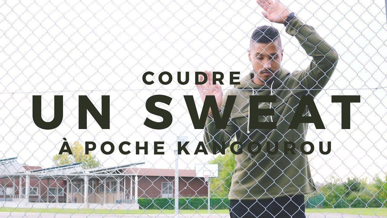 COUDRE UN SWEAT POUR HOMME POCHE KANGOUROU FACILE & SANS