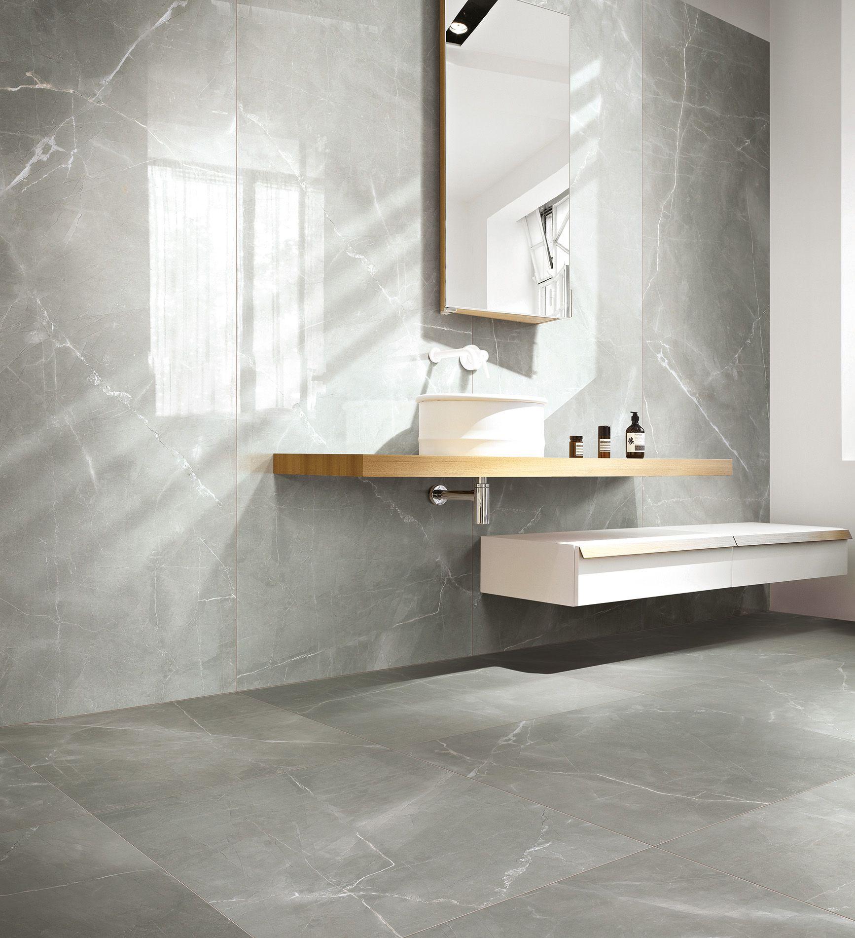 pour une salle de bains tendance osez l 39 effet marbre sur votre mur salle de bains. Black Bedroom Furniture Sets. Home Design Ideas