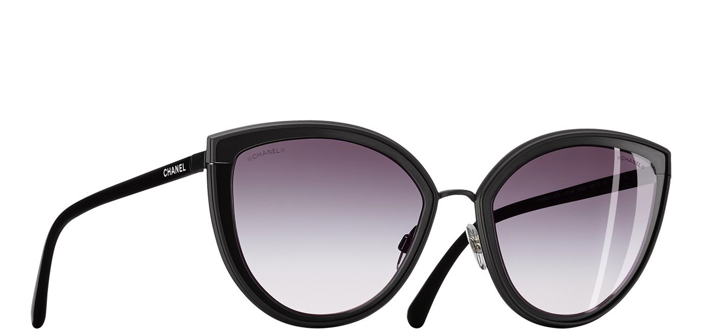 b3d006f810 OFF or more Sunglasses SALE! Chanel Cat Eye Summer Black