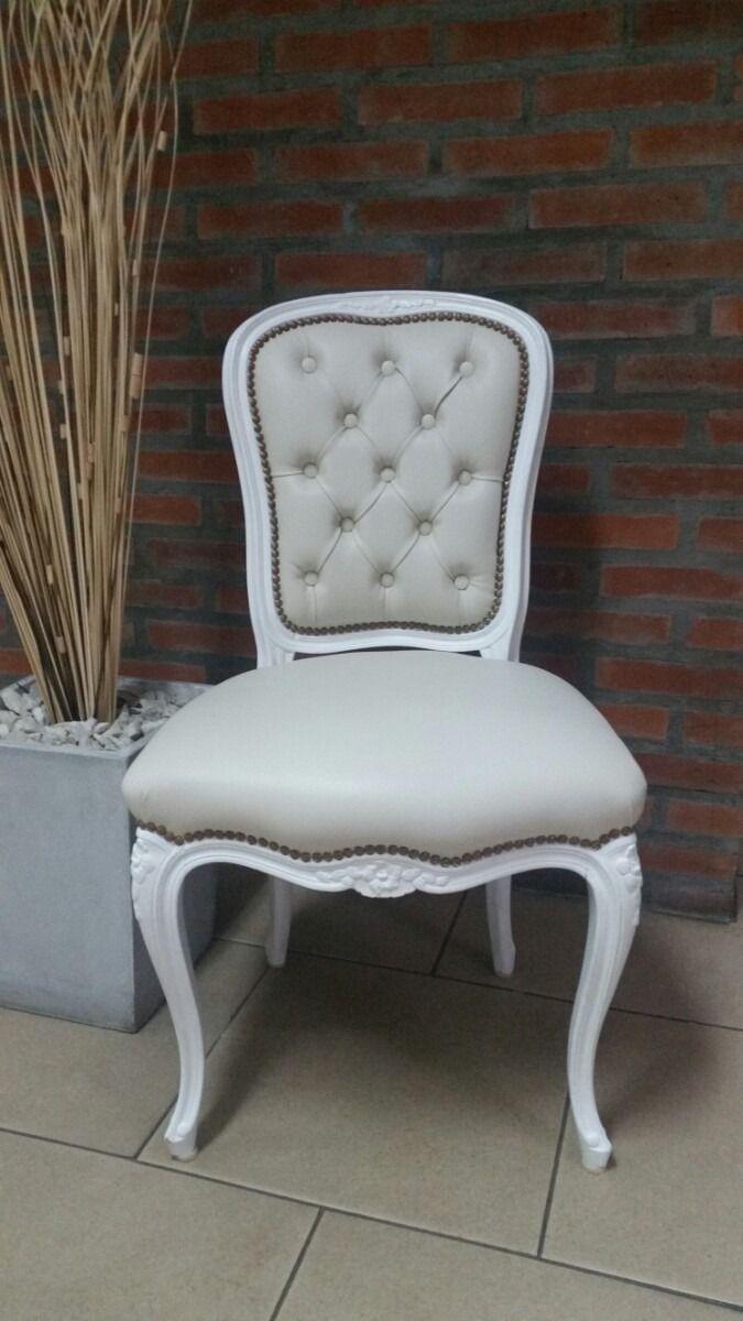 sillas luis xv provenzal antiguas restauradas | Sillas | Dining ...