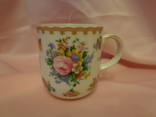 ROYAL ALBERT CARLYLE MUG MINT CONDITION WITH STICKER TAG!