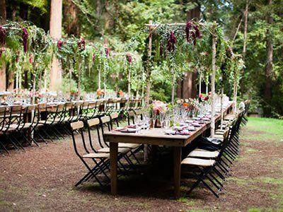 Waterfall Lodge, barn weddings in the redwoods - Ben ...