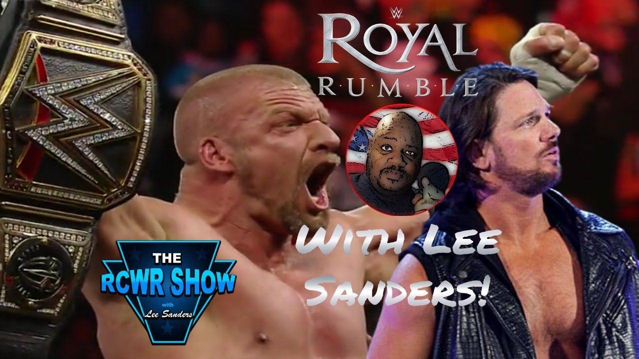 Triple H Royal Rumble 2016