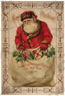 Old Vintage Designs: More FREE Vintage Christmas Clip Art