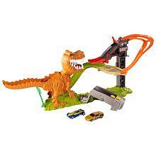Hot Wheels T-Rex Take Down Playset