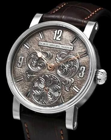 Schaumburg Watch - Limited Editions Unique Annual 925-Sterling Silver Dial…  Egyedi a1720f736c
