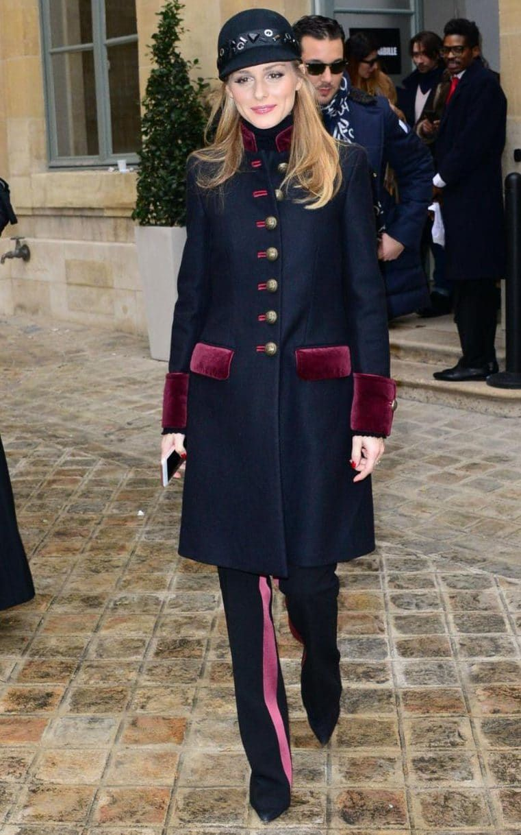 Haute Couture: Olivia Palermo and Nicole Kidman dress up for the front row in Paris
