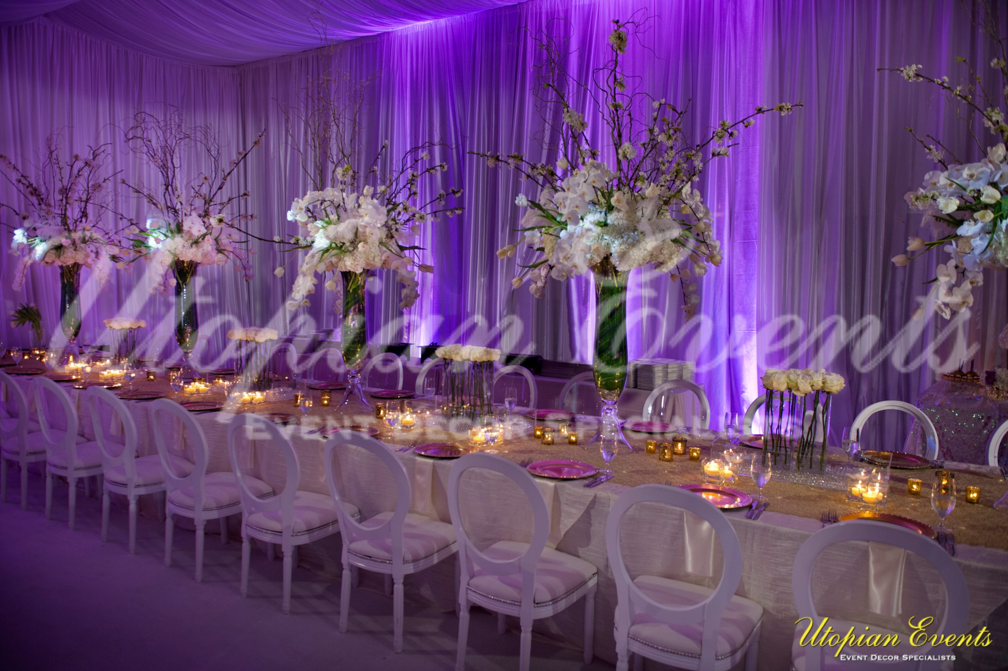 Kandi Burruss Wedding Decor