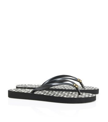 6495f399d675a0 Tory Burch Thin Printed Flip-Flop  Birthday Month!