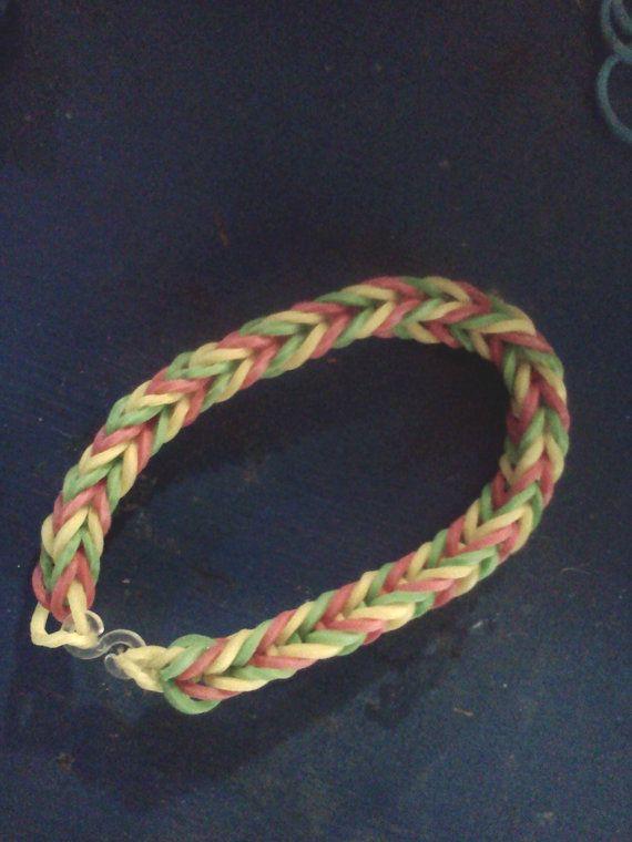 Rubber Band Bracelet by HarmonysShoppe on Etsy, $3.00