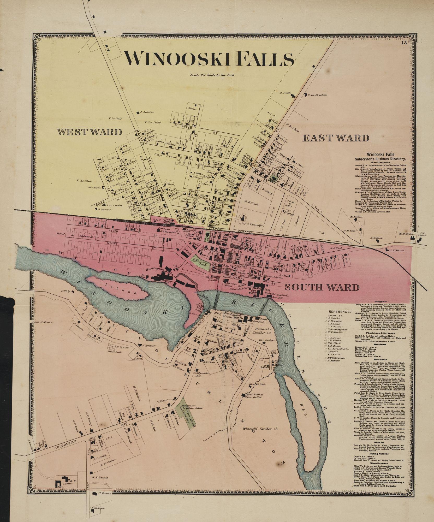 Winooski Fallspage #1
