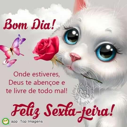 Bom Dia E Feliz Sexta Feira Imagem Para Compartilhar No Whatsapp