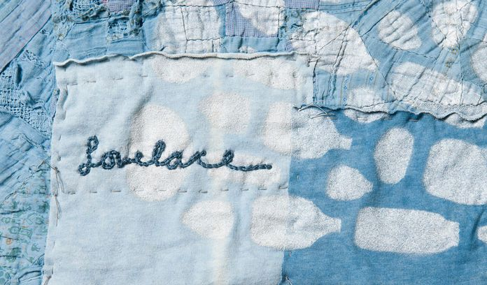 Lovelace quilt detail