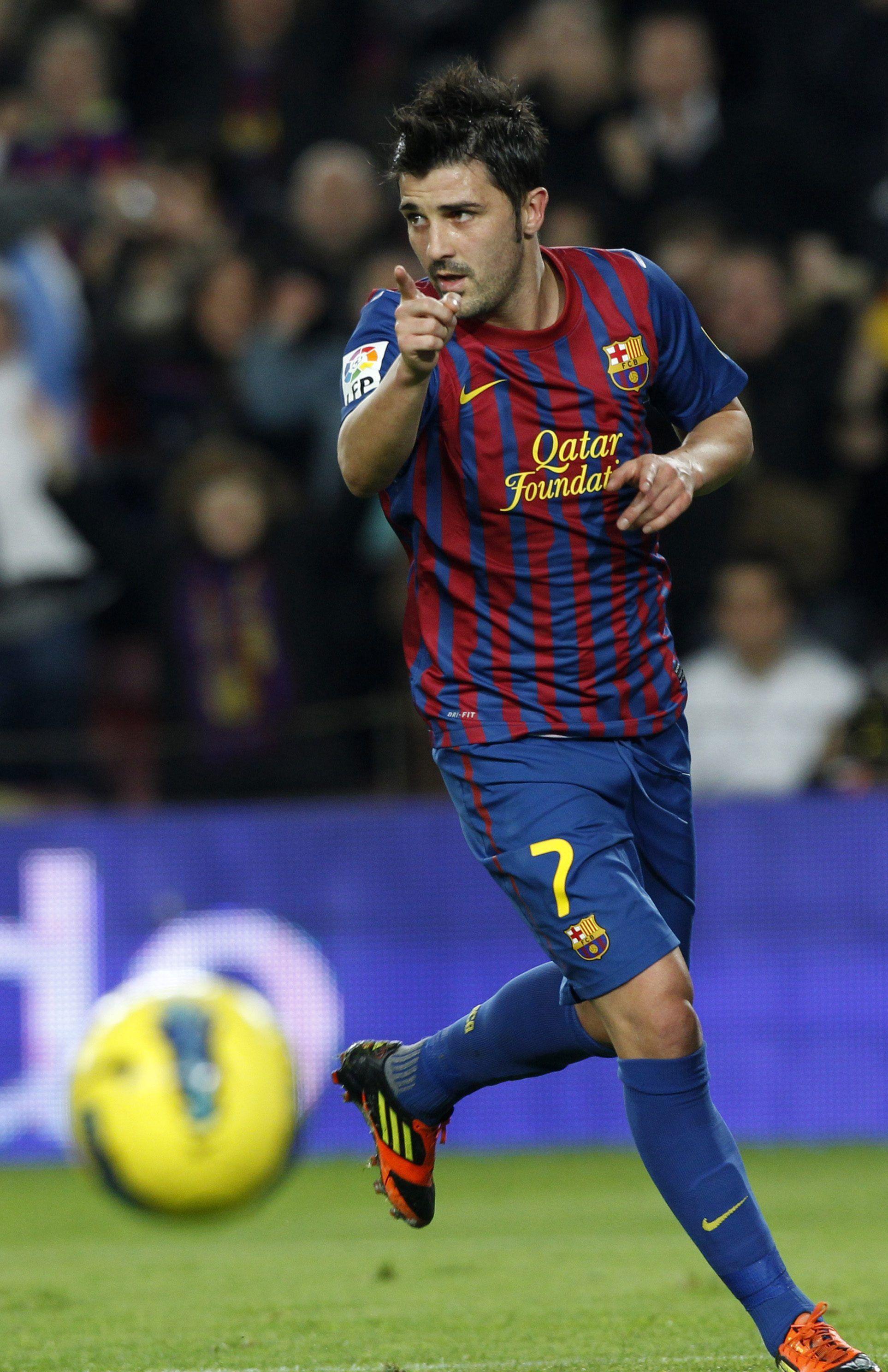 David Villa FC Barcelona Pinterest