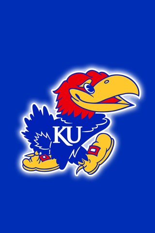 Free Kansas Jayhawks iPhone iPod Touch Wallpapers