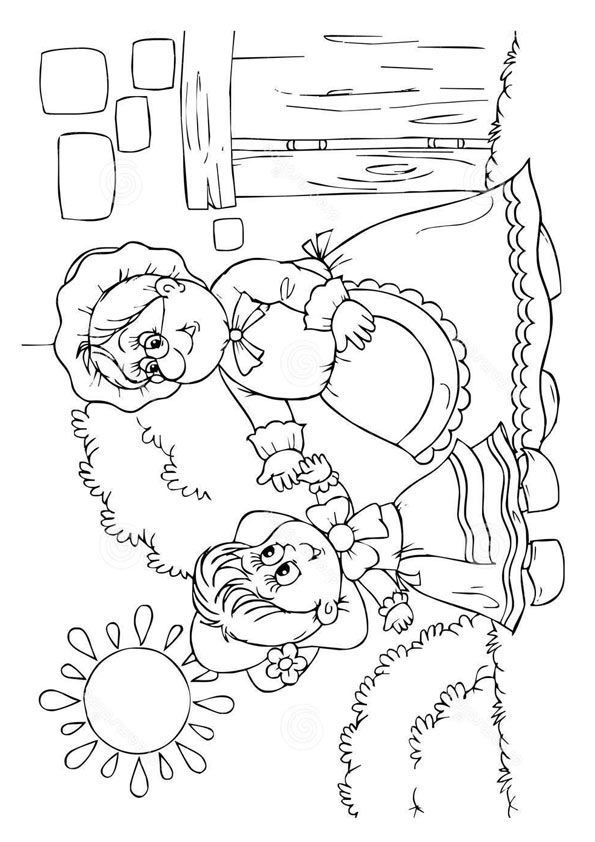 Top 10 Little Red Riding Hood Coloring Pages Your Little Ones Will