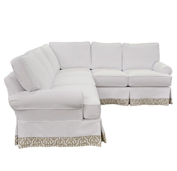 Sensational Quatrine Custom Furniture Veranda Slipcovered Sectional Uwap Interior Chair Design Uwaporg