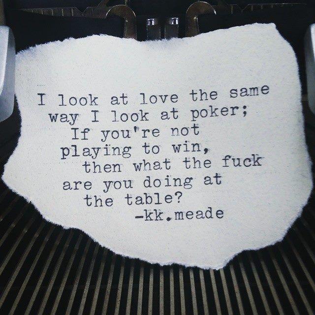 Poker Love Quotes