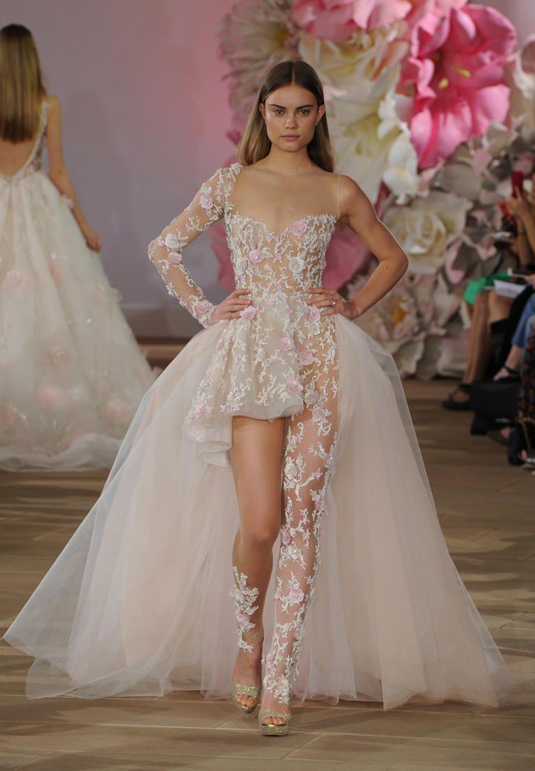 Most Daring Wedding Dresses From Bridal Fashion Week