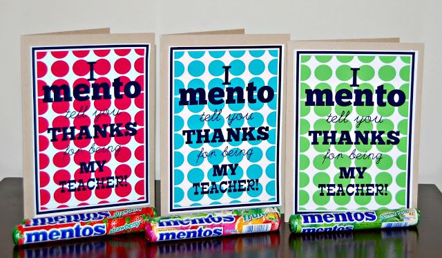 """Detail-Oriented Diva!: I """"Mento"""" Tell You Thanks!"""