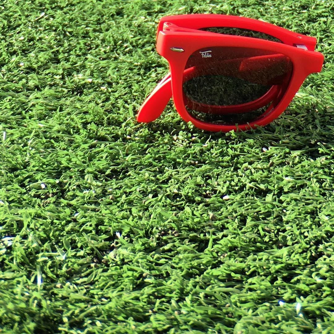 8076b53d04 University Red Polarized Folding Sunglasses