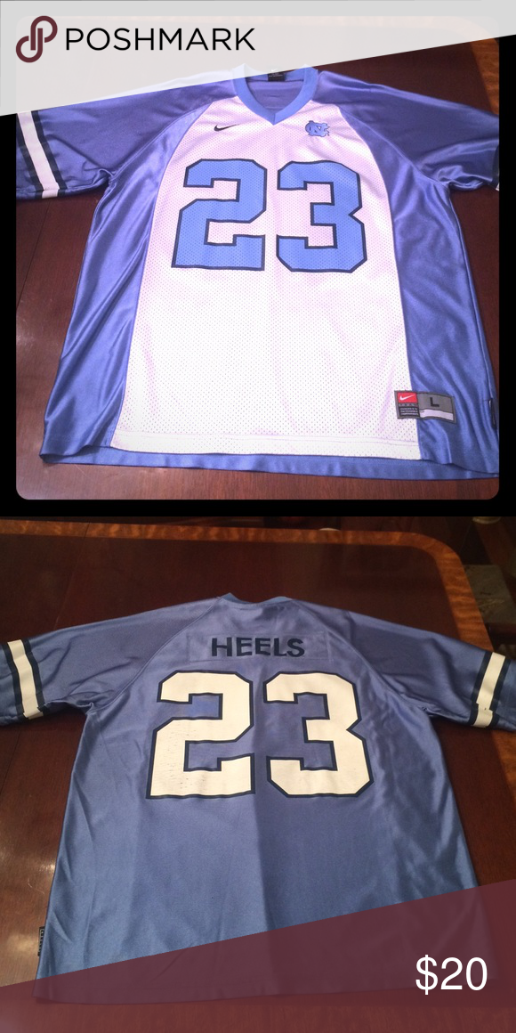 73ed05eba10c49 Nike North Carolina football jersey Nike UNC jersey  23 Heels great for a  Jordan or tar heels fan. Size adult large Nike Shirts