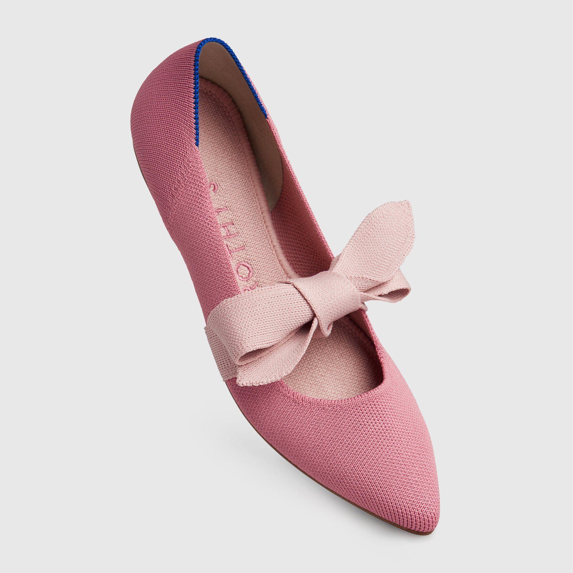 Rose Petals Womens Mallory Ballet Flat