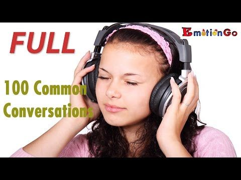 Daily English Conversation | 100 lessons | 2016 FULL HD - YouTube | english | Ear, Wireless ...