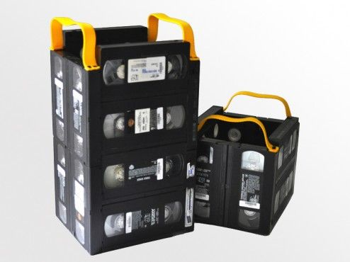Reuse Those VHS Tapes, Storage Cube