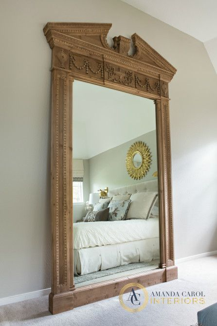 Restoration Hardware Floor Mirror