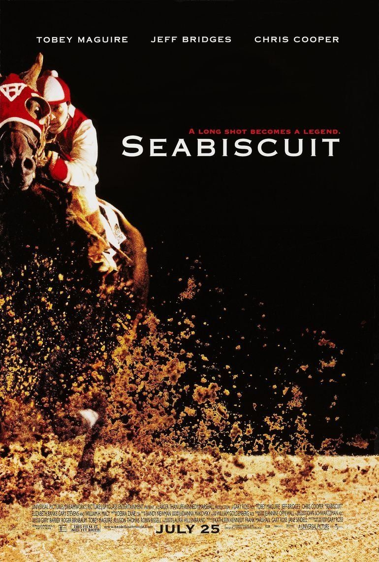 Seabiscuit Movie Poster Click For Details See More Posters At Posterpicker Com With Images Movie Posters Sports Movie Jeff Bridges