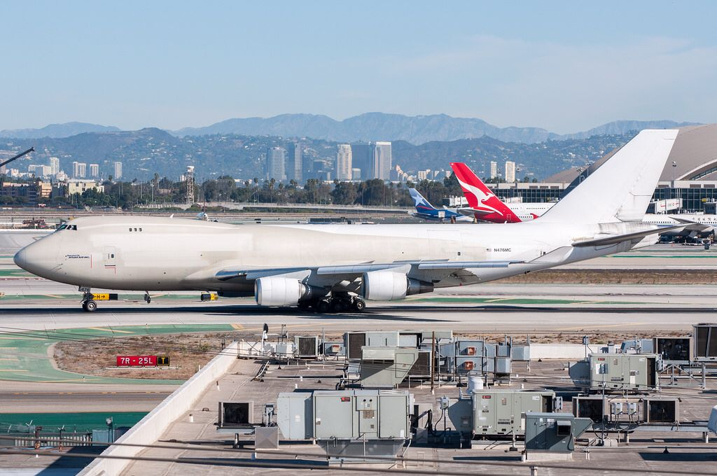 Atlas Air 74747U/F arriving at LAX_20170925 Atlas air