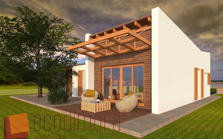 Interni Case Prefabbricate In Legno casa prefabbricata in legno young 118 | case prefabbricate