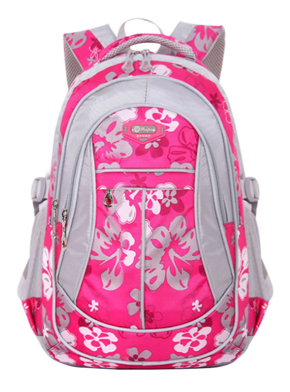 07a6bfa58376 Children School Bags For Girls Boys New Floral Printing Backpack Kids Book Bag  Primary School Student