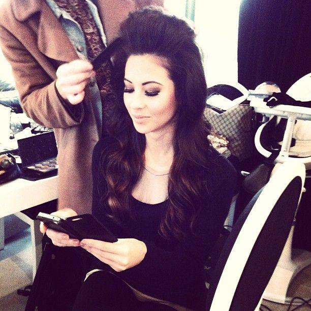"@designerduchess's photo: ""Behind the scenes www.designerduchess.com #designerduchess #dressup #photoshoot #shopaholic #model #stunning"""