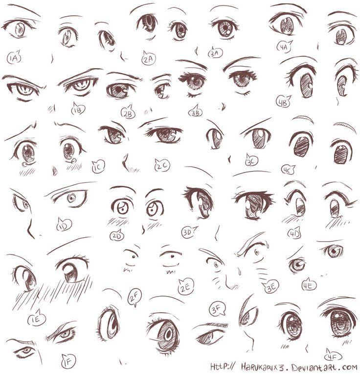 1352c1c741daf776c7854455d78cdabb Jpg 736 763 Anime Eye Drawing Anime Drawings Tutorials How To Draw Anime Eyes