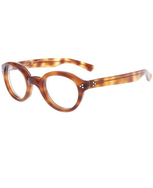 f420771e8e0132 Lunettes De Soleil · Arrondi · Lesca Round Framed Glasses Case   Bag