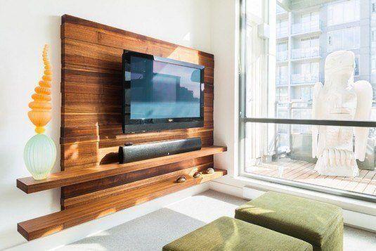 Wooden Tv Cabinet Idea Wooden Tv Stands Decor Tv Wall