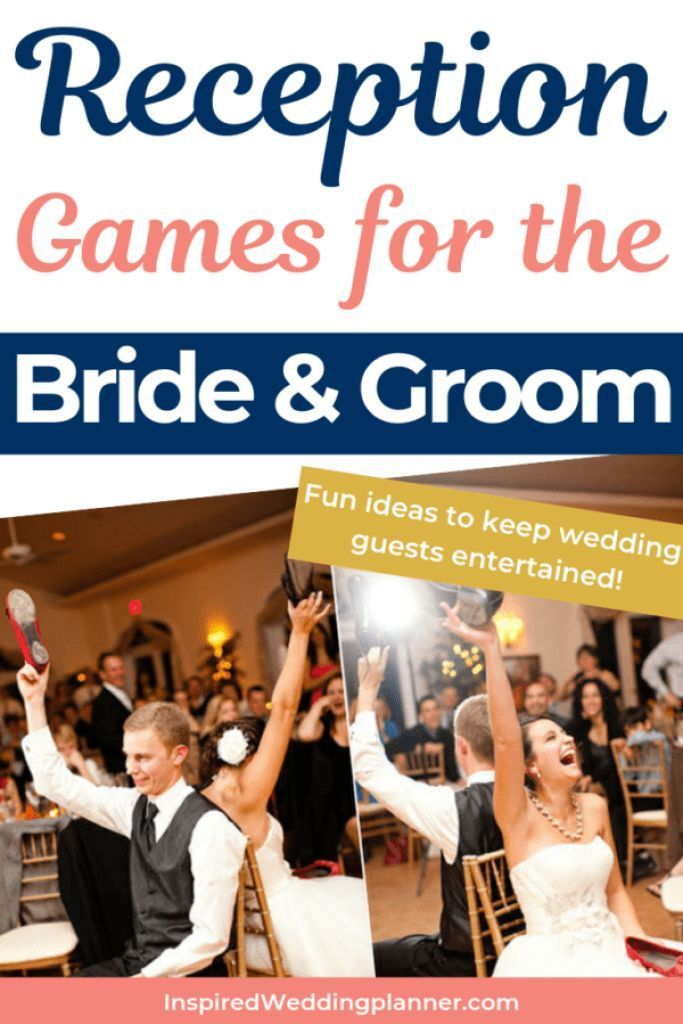 Get ideas for wedding games for bride and groom that will