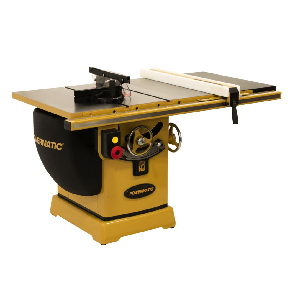 Powermatic Table Saw 5hp 1ph 230v 30 Rip Model Pm2000b In