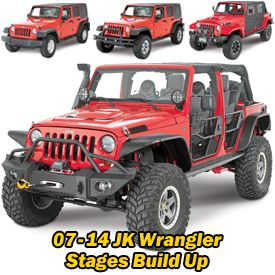 Check Out The Jeep Build Ups That We Have Featured In Our Catalogs